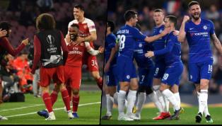 Arsenal và Chelsea đều đã đồng loạt lọt vào bán kết Europa League sau những chiến thắng ở tứ kết lượt về rạng sáng 19.5, đối thủ của họ lần lượt là Valencia...