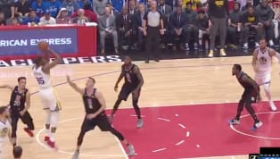 Los Angeles Clippersrecibe aGolden State Warriorsen el juego 3 de primera ronda en los playoffs 2019. Apenas en el primer cuarto, Kevin Durant consiguió...