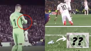 Este martes durante los cuartos de final de vuelta de la Champions League entre Barcelona y Manchester United, se presentó una imagen muy peculiar y que...