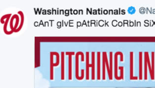 ​Did the ​Nationals really think they could get away with this? I mean, they might as well have tagged the ​Yankees in this post.  This offseason, Washington...