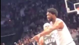 After plenty of on and off court ​trash talk between the Nets and 76ers, ​tensions erupted during Game 4 on Saturday afternoon. Jared Dudley pushed Joel...