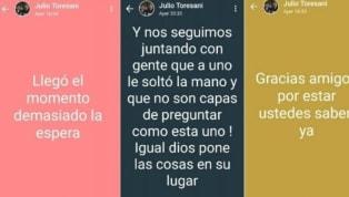 Este lunes 22 de abril, el mundo del fútbol enArgentinaamaneció con la dura noticia de la muerte de Julio Cesar Toresani. El ex jugador de Boca y River...