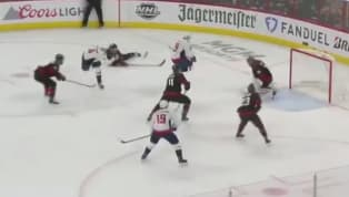 After Warren Foegele scored to even up Game 6 at one apiece, it was Alexander Ovechkin who answered the bell for theCapitals, sneaking one past Hurricanes...