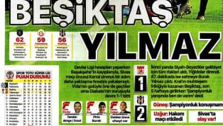 Beşiktaş'ın 2-1 galip ayrıldığı Demir Grup Sivasspor maçının ayrıntıları, günün haberlerinde ağırlıklı olarak işlendi. Salı gününün öne çıkan haber başlıkları...