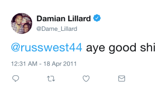 ​​Damian Lillard and Russell Westbook are at each other's throats in a playoff series surely not lacking individual storylines. But for as much trash talk as...