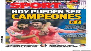 El diario valenciano saca en portada a Guedes, el jugador más en forma al que se encomienda el Valencia para derrotar al Atlético de Madrid y acercarse aún...