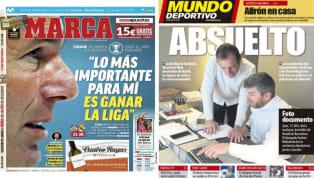 El diario As recoge en su portada las palabras de Zinedine Zidane en la rueda de prensa previa al encuentro frente al Getafe. Y es que el entrenador merengue...