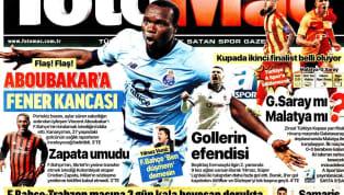 Galatasaray'ın, Ziraat Türkiye Kupası'nda oynayacağı Evkur Yeni Malatyaspor maçına ilişkin gelişmeler, günün haberlerinde ağırlıklı olarak yer buldu. Perşembe...