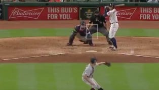 You can't just hang a slider over the middle of the plate and not expectGeorge Springerto JUMP all over it. That's exactly what Indians starter Trevor...