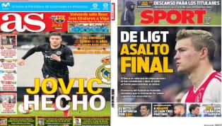 El diario As revela en su portada el fichaje de Luka Jovic por el Real Madrid . Según el medio español, el Eintracht y el club merengue habrían llegado a un...