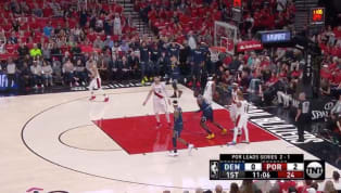 This is one of those trick shots you and your buddies practiced in your drive way growing up. But Jamal Murray does them for real.After a crazy game on...
