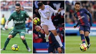 Voici l'équipe-type de la 35e journée, marquée entre autres par le nul entre Lyon et Lille, la cinquième victoire consécutive des Nantais et la relégation...