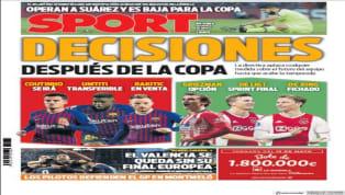 Los principales medios españoles abren el día de hoy con distintos contenidos en su plana principal. Las palabras de Rodrygo Goes como jugador del Real...