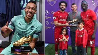 Danh hiệu Vua Phá Lưới mùa 2018/19 được chia đều cho ba ngôi sao là Pierre-Emerick Aubameyang,Mohamed Salah& Sadio Mane, có hai lần trong lịch sử từng...