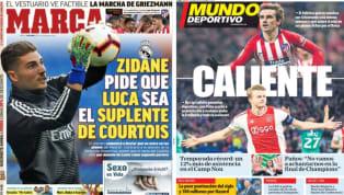 El diario As recoge en su portada una información de L'Èquipe sobre el fichaje de Hazard por el Real Madrid . Y es que el fichaje ya se habría acordado con el...