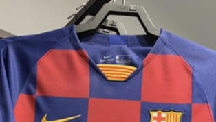 Images ofBarcelona's rumoured home shirt for the 2019/20 season appearing in a shop have appeared online, fuelling speculation that the strip will be...