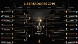 La Conmebol dio a conocer las fechas de los encuentros de octavos de final de la Copa Libertadores. River, defensor del título, se mide con Cruzeiro, ganador...