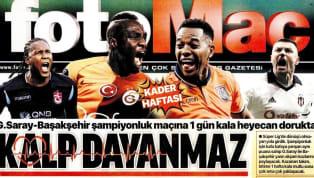Beşiktaş'ın Trabzonspor maçı öncesindeki gelişmeler, günün haberlerinde ağırlıklı olarak işlenmiş durumda. Cumartesi gününün öne çıkan haber başlıkları şu...