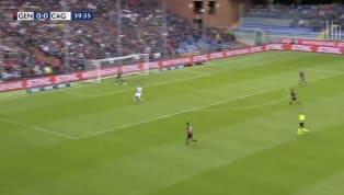 Leonardo Pavoletti with a fine volley to give Cagliari a 1 nil advantage!!! #tlnsoccer #GenoaCagliari #SerieA pic.twitter.com/9zuByycZME — TLNTV (@TLNTV) 18...