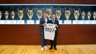 Tiền vệ Toni Kroos vừa mới lên tiếng chia sẻ về quyết định gia hạn hợp đồng với Real Madrid, đồng thời bày tỏ tình yêu với đội bóng này. Cách đây ít...