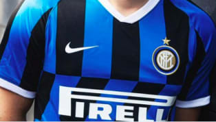 ​Images of Inter's potential new home kit for the 2019/20 season have surfaced online, showing a controversial break from the traditional vertical stripes...
