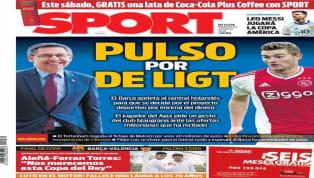 El periódico Super Deporte sale en portada con Gonçalo Guedes, uno de los grandes referentes y amenazas del Valencia de cara a la final de Copa. El portugués,...