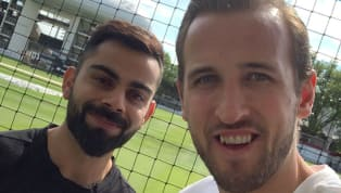 ​Virat Kohli and Harry Kane posed for a picture on social media after the cricketer met with the footballer at the Lord's Cricket Ground and it led to...