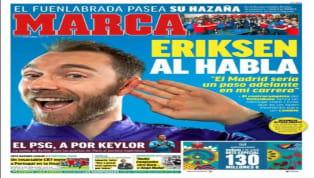 El periódico valenciano saca en portada las dudas de Rodrigo sobre su continuidad. El delantero español no garantiza si seguirá o no en el conjunto che , por...