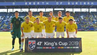  การแข่งขันฟุตบอลชิงถ้วยพระราชทานคิงส์คัพ 2019 รอบชิงอันดับที่ 3วันแข่งขันวันเสาร์ที่ 8 มิถุนายน 2019เวลาแข่งขัน15:30 น.คู่แข่งขันทีมชาติไทย vs...