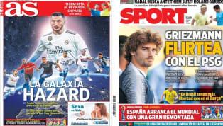 """El diario valenciano trae en portada a Maxi Gómez y títula """"Maxigol"""". El jugador está convencido de fichar por el Valencia y está feliz en la concentración..."""