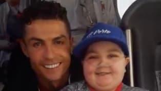 Una giornata da ricordare per il piccoloEdoardo Moreira, il piccolo tifoso portoghese che praticamente dalla nascita lotta contro la leucemia. Mentre...