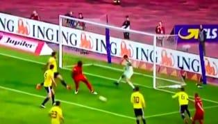 Trong một ngày thi đấu tỏa sáng với một cú đúp giúp tuyển Bỉ hạ tuyển Scotland thìRomelu Lukakuvẫn biết cách tự biến mình thành trò hề với một pha dứt...