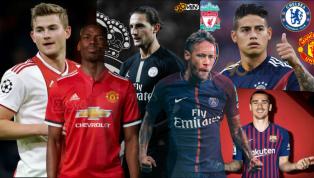 Tổng hợp chuyển nhượng của tuần qua với các tin đồn và tin chính thức đến từ những đội bóng lớn nhưManchester United, Real Madrid, Barcelona, Liverpool,...