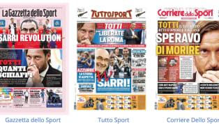 La maggior parte delle prime pagine dei principali quotidiani sportivi nazionali oggi in edicola dedicano ampio spazio alla fresca conferenza stampa al...