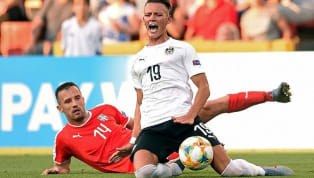 ​RB Leipzig newcomer Hannes Wolf suffered a horrendous broken leg while playing for Austria against new ​Real Madrid ​striker Luka Jovic's Serbia in the...