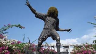 El mítico arquero colombiano tiene su estatua en la comuna 12 de Octubre del barrio Castilla de Medellín, creada en 1989 cuando Nacional ganó la primera Copa...