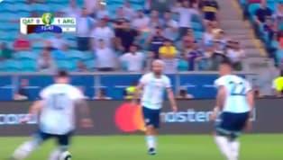 Lionel Messi đã có một pha bỏ lỡ không tưởng trong trận cầu với Qatar ở vòng bảng BCopa Americarạng sáng 24.6. Xem bàn mở tỉ số của Martinez tại đây Xem...