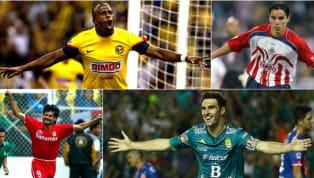 A continuación, los máximos anotadores de cada uno de los últimos 50 torneos de la liga mexicana. Los 14 goles que el ecuatoriano de León marcó en 17 partidos...