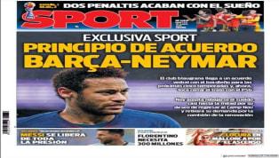 El periódico Superdeporte abre con las declaraciones de De los Santos, que asegura que el uruguayo Maxi sería ideal para triunfar en el Valencia. También la...