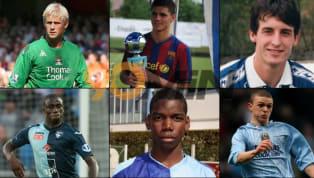 Andiamo a scoprire alcuni giocatori di fama mondiale che non sapevi fossero cresciuti nello stesso settore giovanile. Vera e propria leggenda del Manchester...