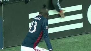 Una tarjeta amarilla por el bailar el twerking. Ese fue el castigo que recibióKei Kamara, futbolista del New England por mostrar júbilo al anotar un gol...