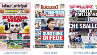 Tanto spazio al mercato nelle prima pagine dei principali quotidiani sportivi nazionali in edicola oggi, martedì 2 luglio 2019. Da Rabiot a Lazaro e Godin,...