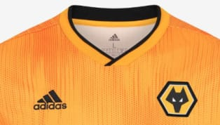 Wolves have officially unveiled their new home kit for the 2019/20 campaign, with last season's light gold colour replaced with a darker shade. Manufactured...