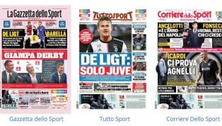 Mercato e dichiarazioni nelle prime pagine dei giornali oggi in edicola: dal blitz dal Napoli per James Rodriguez alla chiusura imminente dell'Interper...