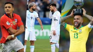 Có đến năm ngôi sao của tuyển Brazil góp mặt trong đội hình tiêu biểu của Copa America 2019 do WhoScored.com chọn ra, nhưng tuyệt nhiên không có cầu thủ nào...