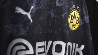 ason Borussia Dortmund have released the first images of their sleek new black and silver away kit for the 2019/20 season. The kit, which features a base layer...