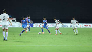 ​The ​Indian football team were beaten 5-2 by DPR Korea in their second match of the Intercontinental Cup on Saturday at the TransStadia Arena in Ahmedabad....