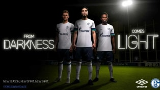 Schalke 04 and Umbro have unveiled their brand new away kit for the 2019/20 season, with a sleek white and blue jersey, showcasing the main colours of the...