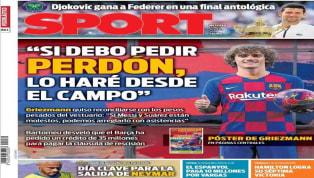 El periódico valenciano destaca el subidón en la afición che después de que se hiciera oficial el fichaje de Maxi Gómez y la posible llegada de Otamendi....