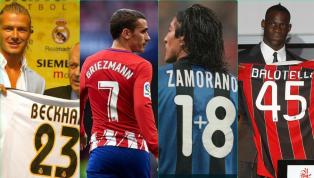 Antoine Griezmann phải thay đổi số áo 7 yêu thích để sử dụng số 17 khi cập bến Barcelona, tiền đạo người Pháp là một trong số những ngôi sao phải làm điều...